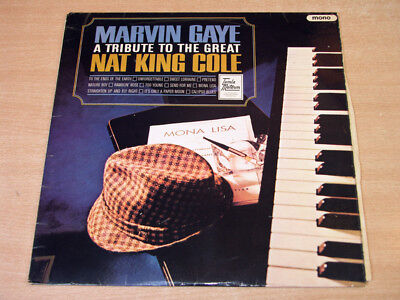 Marvin Gaye/A Tribute To the Great Nat King Cole/1965 Tamla Motown Mono LP