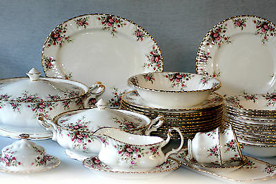 Royal Albert ' Cottage Garden '  Tea Set And Tableware - English Bone China