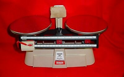 OHAUS 1560-SD Harvard Trip Mechanical Balance, 2kg cap., 0.1g read., 2 Beam