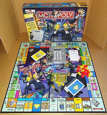 Selection Of Replacement Spares For Simpsons Edition Monopoly  Board Game;