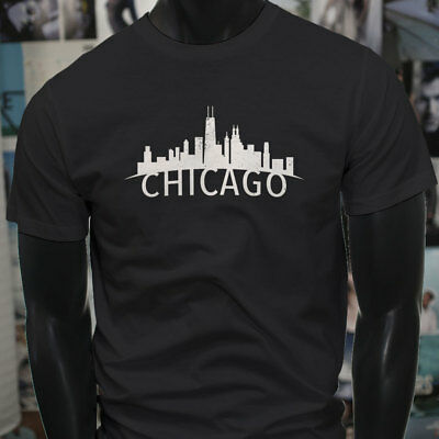 1708d3ecd CHICAGO SEARS TOWER T Shirt Graphic Tee Vtg 90s Single Stitch Theme ...