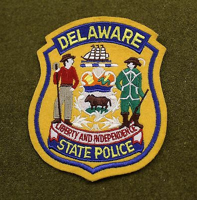17399) Patch Delaware State Police Department Sheriff Uniform