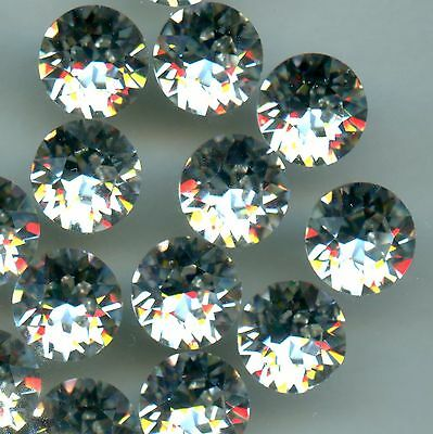 1088 Ss45 C ***4 Tres Gros Strass Swarovski Fond Conique 10Mm Crystal F