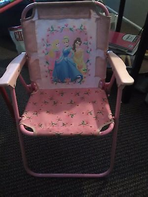 Disney Princess Princesses Toddler Folding Patio Chair. Sturdy With Locks : toddler patio chair - Cheerinfomania.Com