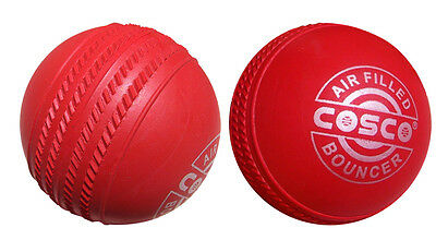 Seamed Rubber Cricket Ball x 10 pieces ( Train in any weather ) Extra bounce.
