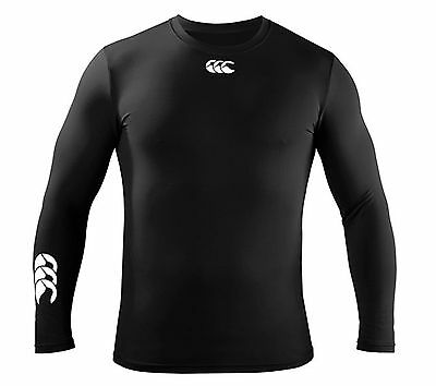 Canterbury Base Layer Cold Long Sleeve Top - Kids Sizes - Rrp £19.99