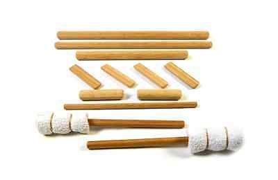 VULSINI 12 Piece Bamboo Stick Set