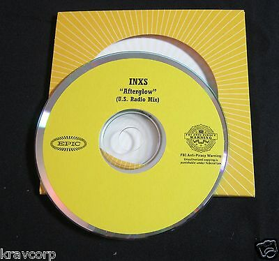 Inxs 'Afterglow' 2005 Promo Cd Single