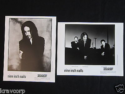 Nine Inch Nails—Two 1997 Publicity Photos