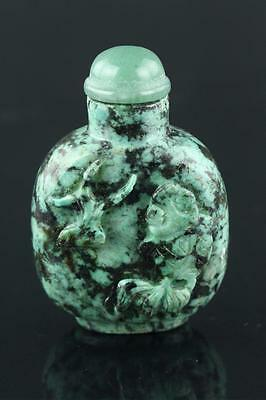 Chinese 19th Century Turquoise Snuff Bottle