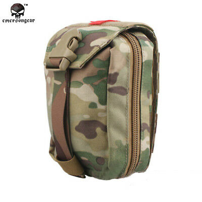 EMERSON Tactical First Aid Kit Pouch Medic Bag Military Airsoft 1000D EM6368
