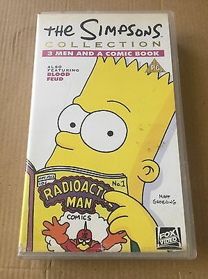 The Simpsons Collection 3 Men And A Comic Book VHS Video
