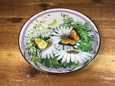 "Vintage 1986 The Hamilton ""Butterfly Garden"" Collection  ~ Orange Sulfur"