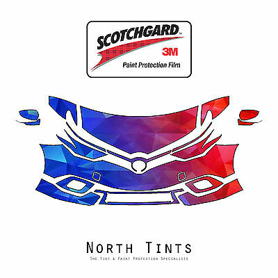 Toyota Corolla iM 2017 PreCut 3M Scotchgard Paint Protection Clear Bra Kit