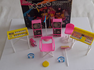 Barbie & the Rockers Video Recording Studio Playset + Accessories