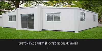 Expandable Two Bedroom Folding Granny Flat/37m2 House