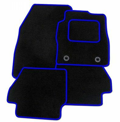 Volvo Xc60 2008 On Tailored Car Floor Mats Carpet Black Mat + Blue Trim