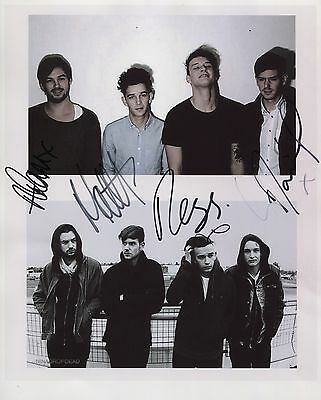 The 1975 (Band) Matthew Healy SIGNED Photo 1st Generation PRINT + Certificate /1