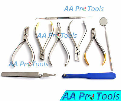 Ortho Set Up Tray Kit Range Of Professional Pliers - Orthodontic Instru DN-503
