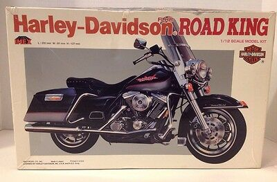 Harley-Davidson Flhr Road King -Imex 1/12 Scale Detailed Very Good Kit!!!!