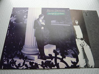 NANCI GRIFFITH - Vinyl Album + Lyric Inner - Late Night Grande Hotel - EX/NMint