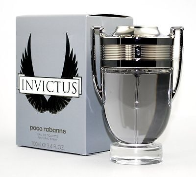 Invictus by Paco Rabanne 3.4oz/100ml Cologne Edt Spray for Men EDT NIB Sealed