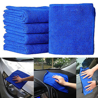5/10/25X Soft Absorbent Wash Cloth Car Care Microfiber Cleaning Towels Exotic