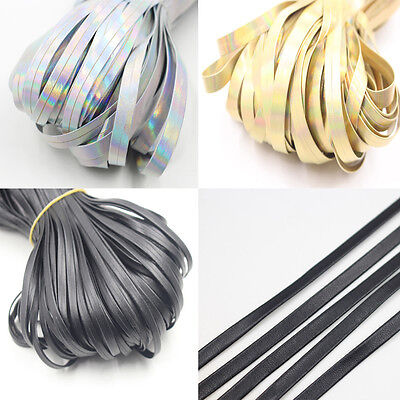 5/20 Meter Real Wide Leather Cord DIY Jewelry Bracelet Making 5mm 10mm