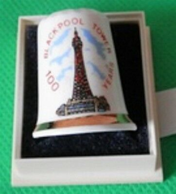 COLLECTORS' THIMBLE Thimble Blackpool Tower 100 Years COMMEMORATION