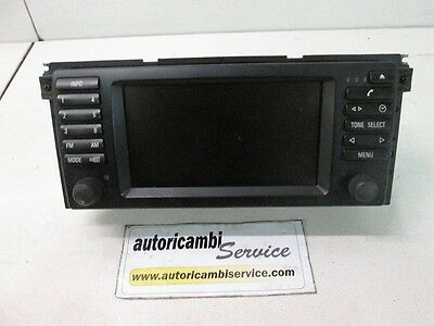 6552-6934413 Display Navigatore Satellitare Bmw Serie X5 E53 3.0 D Aut 160Kw (20