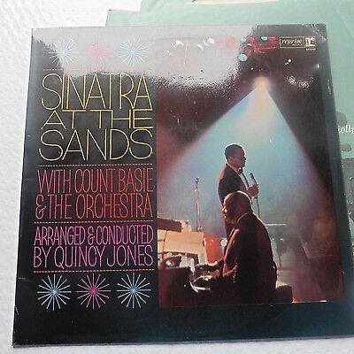 Frank Sinatra - Vinyl Double Album  - At The Sands -  UK Stereo original - NMint
