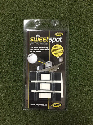 Yes! Golf Sweet Spot Putting Training Aid **new**