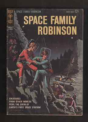 1962 1st ISSUE SPACE FAMILY ROBINSON  GOLD KEY #1 COMIC BOOK  ORIGINAL & COMPLE