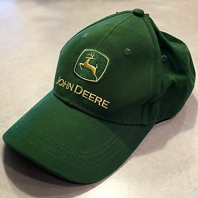 John Deere Baseball Cap - New With Tags - Awesome Classic Green!