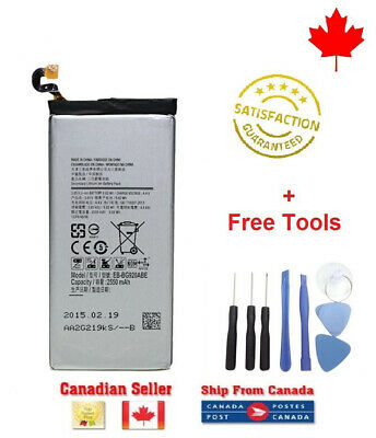 New OEM Internal Replacement Battery for Samsung Galaxy S6 SM-G920 with Tools