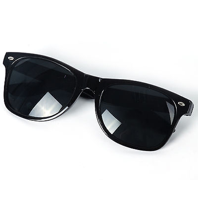 Kids Toddler Boys Girls Children Black Classic Retro Sunglasses Shades 3 - 10