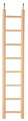 New Trixie Wooden Ladder for Birds Cage Budgies Canaries - Pet Bird Cage Toy