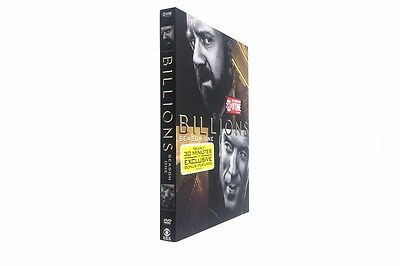 Billions: The First Season 1 (DVD, 2016, 4-Disc Set)