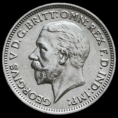 1936 George V Silver Sixpence – GVF+