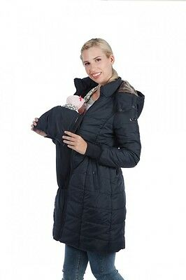 Maternity jacket 3 in 1 during pregnancy with baby carrier and as a women's coat