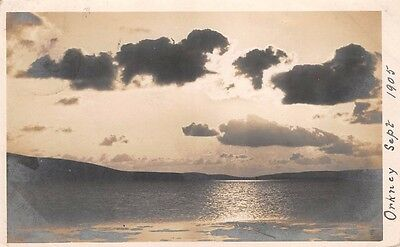 Scotland - ORKNEY,  View of Sea & Sky, used 1905, Kent's Orcadian Series.