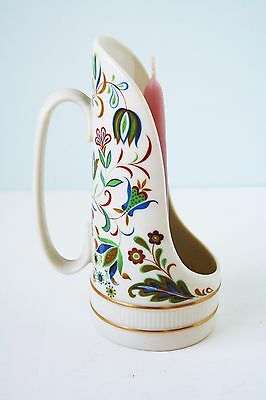 Lenox Hand Decorated Porcelain Candle Holder