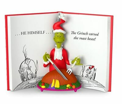 SOLD OUT! * 2016 * THE GRINCH CARVED THE ROAST BEAST Hallmark Ornament DR SEUSS