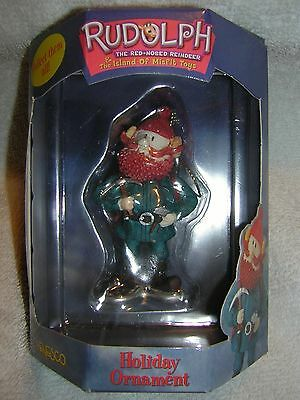 Yukon Cornelius With Axe! Ornament Rudolph Island of Misfit Toys  Rare