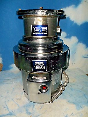 INSINKERATOR ISE  SS-150-36 Garbage Disposal  1 1/2 hp Commercial POWERFUL