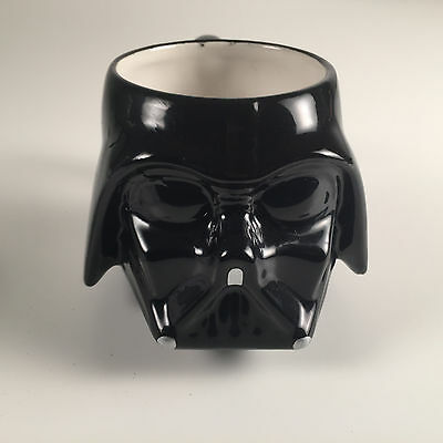 Star Wars Darth Vader Galerie Black Ceramic Coffee Cup Mug - FREE SHIPPING