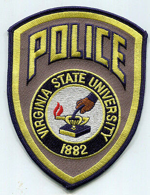 Virginia State University Police Patch