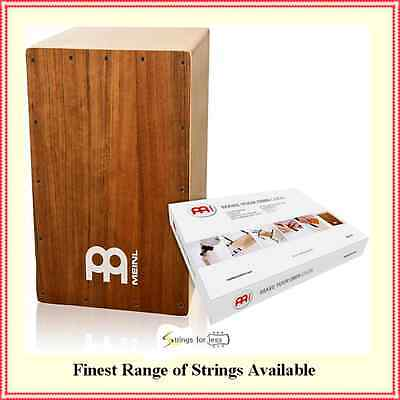 Meinl Percussion MYO-CAJ-OV Make Your Own Cajon, Ovangkol Frontplate Cajon Kit