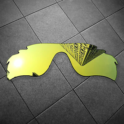 31cd5bf78f 24K Gold Mirrored Replacement Lenses for-Oakley Radarlock Path Vented  POLARIZED