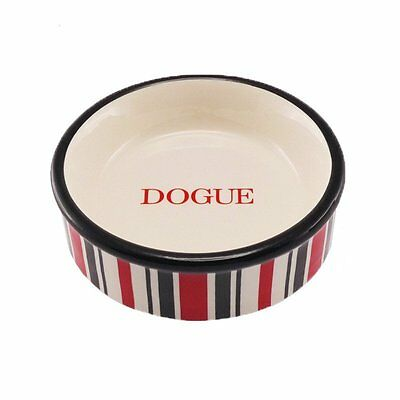 Dogue Candy Stripe Bowl Red Black - Sizes for Cats and Dogs